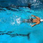 adult pool swimming